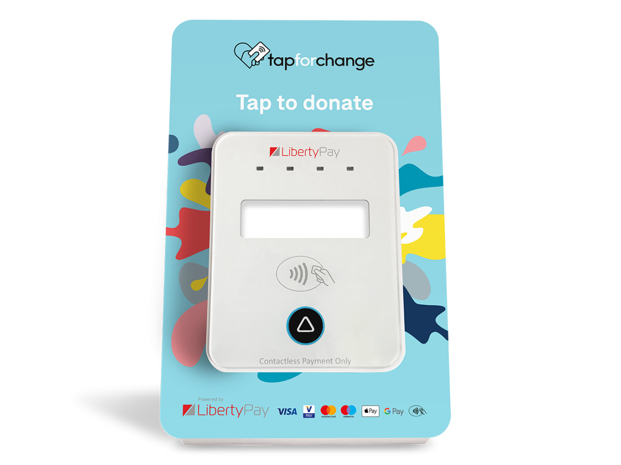 Liberty Pay Tap Donate