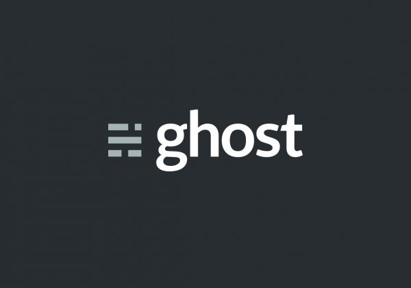 Ghost blog logo